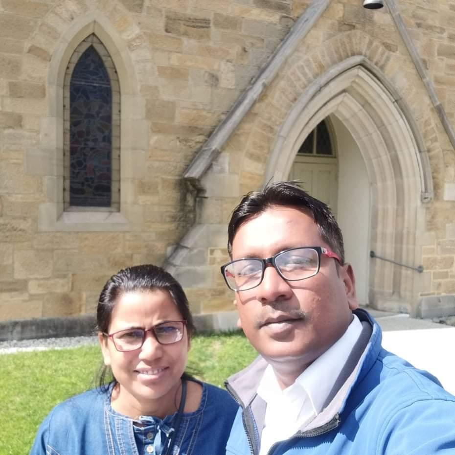 Pastor Vivek Kumar & Rekha Kumari Das